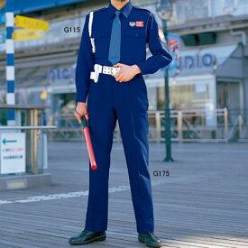 警備服・防犯商品 G-best G115 夏長袖シャツ(花紺) S〜4L