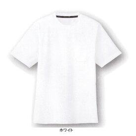 作業着 作業服 コーコス AS-657 吸汗速乾 半袖Tシャツ LL・ホワイト0[作業服から事務服まで総アイテム数10万点以上!][綺麗で丁寧な刺しゅう職人の店]