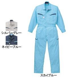 作業服 山田辰AUTO-BI 8900 防臭消臭抗菌ツヅキ服 つなぎ 4L〜5L