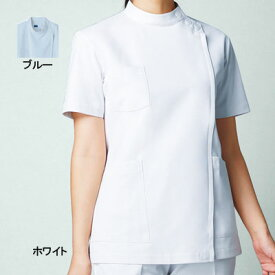 医療白衣・介護服 WHISeL 自重堂 WH10911 女子横掛 S〜4L