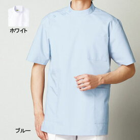 医療白衣・介護服 WHISeL 自重堂 WH10415 男子横掛 S〜4L