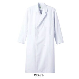 医療白衣・介護服 WHISeL 自重堂 WH10217 メンズダブルコート S〜5L