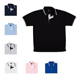医療白衣・介護服 WHISeL 自重堂 85274 半袖ポロシャツ SS〜5L