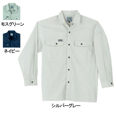 作業服・作業着 桑和(SOWA) 195 長袖シャツ 4L