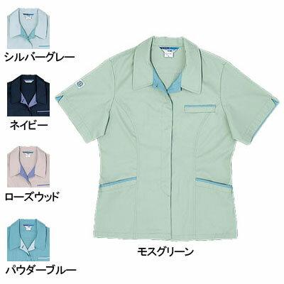 作業服・作業着 桑和(SOWA) 422 エコ女子半袖スモック 4L