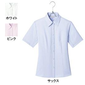 事務服・制服・オフィスウェア ピエ B3500 キテミテ体感半袖ブラウス 17号〜19号