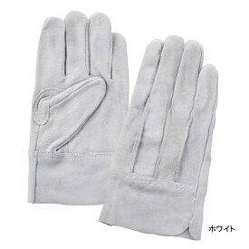 作業用品 富士グローブ EX-600 牛床皮手袋(10双) M〜LL