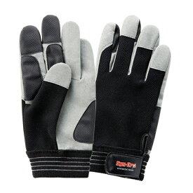 作業用品 富士グローブ SC-705 シンクログリップ 人工皮革手袋(10双) M〜LL