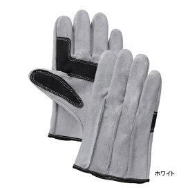 作業用品 富士グローブ 60-SH 牛床皮手袋(10双) L