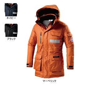 防寒着 防寒服 作業着 作業服 バートル 7211 防寒コート(大型フード付) 5L
