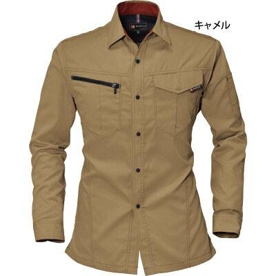 作業服・作業着バートルBURTLE6083長袖シャツS〜LL