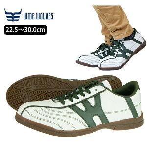 安全靴 おしゃれ レディース メンズ クッション ローカット 軽量 白 紐 スニーカー セーフティーシューズ 23.5cm 30cm / おたふくワイドウルブス WW-101
