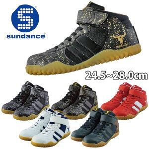 安全靴 おしゃれ かっこいい 強い ハイカット マジックテープ 耐油ソール JSAA A種合格 sundance サンダンス GT-EvoX