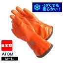 アトム|手袋|高視認耐油二重防寒手袋HI-VIZブリザード 1403