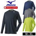 ブレスサーモ 暖かい 発熱 インナー ミズノ 秋冬インナー ブレスサーモクルーネックシャツ F2JA8580
