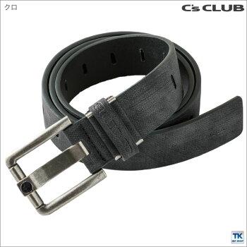 ベルトメンズアンティークレザーベルトC'CLUBcs-0713