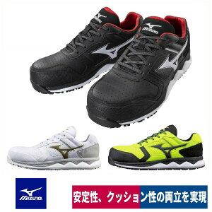 ミズノ 安全靴 作業靴 2020 新作 樹脂先芯入り 耐油 耐滑 オールマイティー HW11L F1GA2000