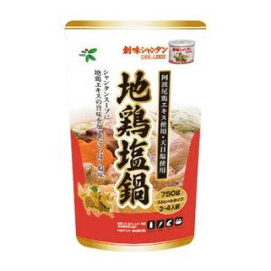 TOHO 桃宝食品 創味シャンタン地鶏塩鍋つゆ 750g×12個入り