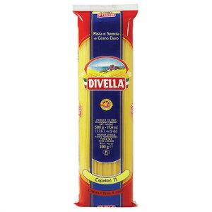 DIVELLA ディヴエッラ パスタ 11カッペリーニ 500g 24袋セット 606-103