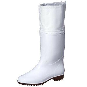 弘進ゴム 長靴(P.V.C製) ゾナG3ネオ耐油 白 カバー付 22.5cm C0125AB