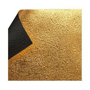 もみ金箔両面和紙 単色 12cm 黒 10枚入 KJ-24K 5セット