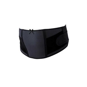 犬印 マタニティ お腹と腰を支える ベルト 妊婦帯(妊娠中期〜後期)ブラック L HB8174腰 妊婦 妊娠