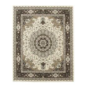 トルコ製 ウィルトン織 ラグ カーペット 『ラフィット RUG』 アイボリー 約80×140cm 2329359【送料無料】