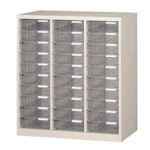 オフィス・店舗・施設向け レターケース A4判縦3列 深型10段 COM-A-310デスクトレー オフィス 棚