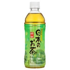【送料無料】【まとめ買い】 ポン日本のお茶 500ml 48本入り