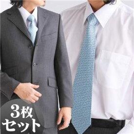 【送料無料】【 百貨店仕立て 】 ワイシャツ3枚セット VV1950 【 長袖 】 ホワイト Lサイズ