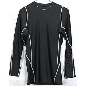 アメリカ軍 タクティカルトレーニングアンダーシャツ 【 長袖/XLサイズ 】 Y M615004 ブラック 【 レプリカ 】
