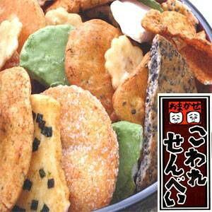 【送料無料】【訳あり】草加・おまかせ割れせんべい(煎餅) 2kg缶