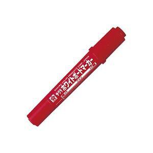 【送料無料】(まとめ)サクラクレパス ホワイトボードマーカーツイン WBK-T 赤【×20セット】