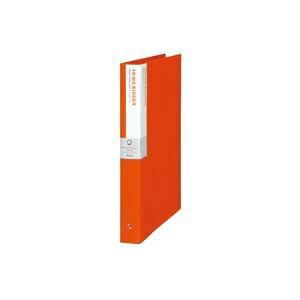 (業務用10セット) プラス リング式ファイル デジャヴバインダー 【A4/4穴】 タテ型 FB135DP トマトレッド