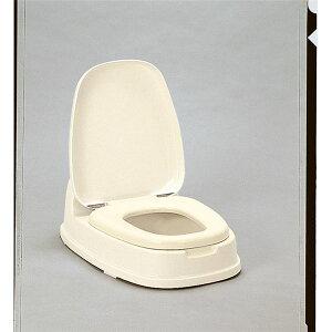 【送料無料】和式トイレ用洋式便座/簡易洋式便座 【両用型】 ベージュ 抗菌加工 ポリプロピレン製