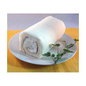 白いロールケーキ 2本【代引不可】