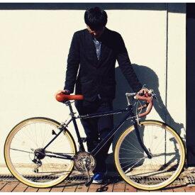 【送料無料】ロードバイク 700c(約28インチ)/ネイビーブルー(青) シマノ21段変速 重さ/14.4kg 【Raychell】 レイチェル RD-7021R【代引不可】
