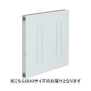 プラス フラットファイル縦罫A3E No.002NT GY 10冊