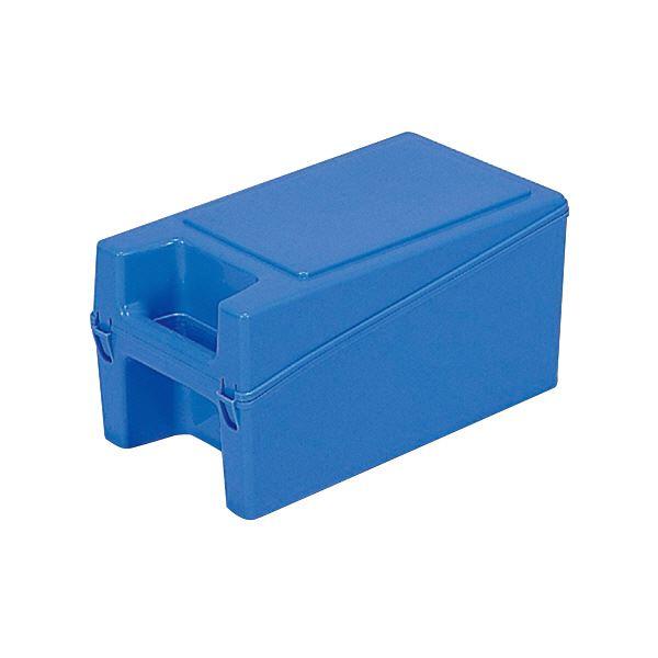 【送料無料】三甲(サンコー) ハンディボックス(工具入れ/ツールボックス) ハンドル付き 3 ブルー(青)【代引不可】