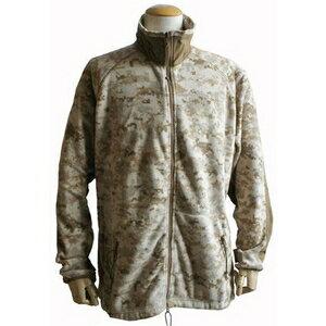 【送料無料】アメリカ軍 海兵隊放出 PO LARTEC フリースジャケット 【Sサイズ 】 デザート 〔未使用デッドストック〕