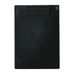 【送料無料】(まとめ) オープン クリップボード 再生ABS樹脂製 B5判タテ型 CB-300-BK 黒 1枚入 【×5セット】