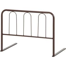 【送料無料】ベッドガード/ベッドフェンス 【ハイタイプ ブラウン】 幅60cm×高さ45cm 厚めマットレス対応 〔子供 介護〕【完成品】【代引不可】