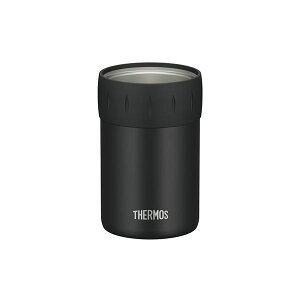 【送料無料】【THERMOS サーモス】 保冷 缶ホルダー 【350ml缶用 ブラック】 真空断熱ステンレス魔法びん構造