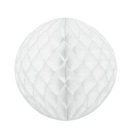 【送料無料】(業務用20セット) hanaoka ハニカムボール30cm ホワイト