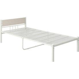 【送料無料】シンプル 新生活家具3点セット 【ホワイト】 シングルベッド・テーブル・チェア・収納付ハンガーラック 〔引っ越し 一人暮らし〕【代引不可】