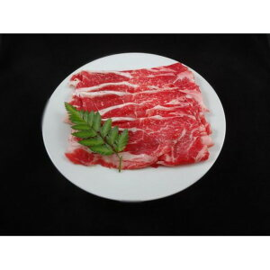 【送料無料】国産牛 牛肉 【肩ローススライス 500g】 精肉 霜降り 赤身肉 〔ホームパーティー 家呑み バーベキュー〕【代引不可】