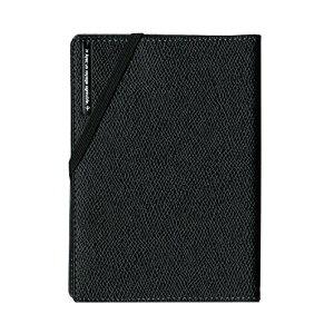 【送料無料】コンサイス スキミングブロック パスポートカバー皮革調R ブラック CO-293118 【3個セット】