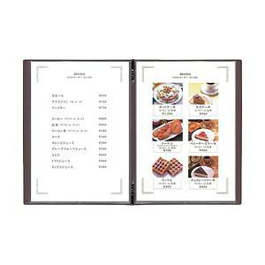 【送料無料】(まとめ) メニューブック用中ビニール(A4) 5枚入 【×3セット】【×3セット】