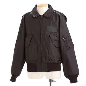 【送料無料】HOUSTON フライトジャケット ブラック M