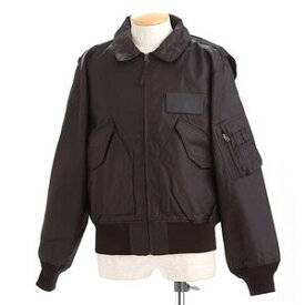 【送料無料】HOUSTON フライトジャケット ブラック L